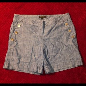 The limited jean shorts